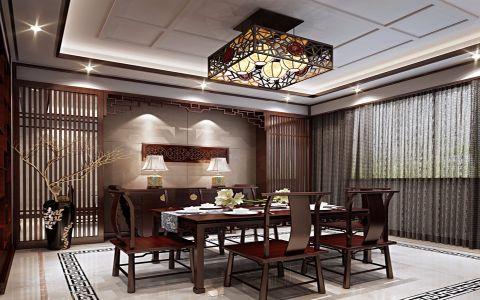 13.5万预算120平米三室两厅装修效果图