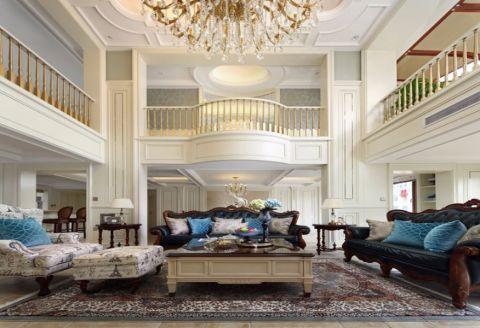 天方意境160平米法式风格别墅装修效果图