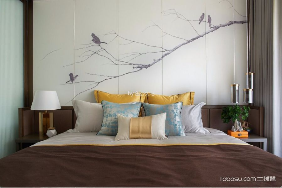 2021简中90平米装饰设计 2021简中三居室装修设计图片