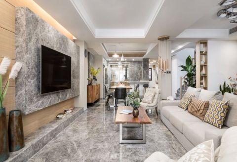 32万预算160平米公寓装修效果图