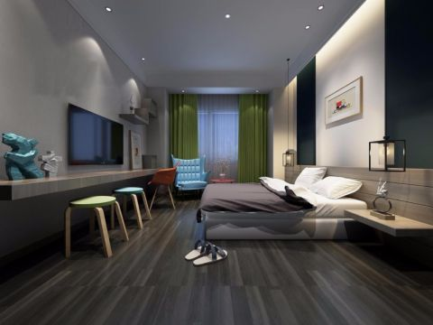家装简约风格三居室装修效果图