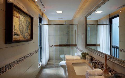 虹苑新寓100平米新中式风格装修效果图