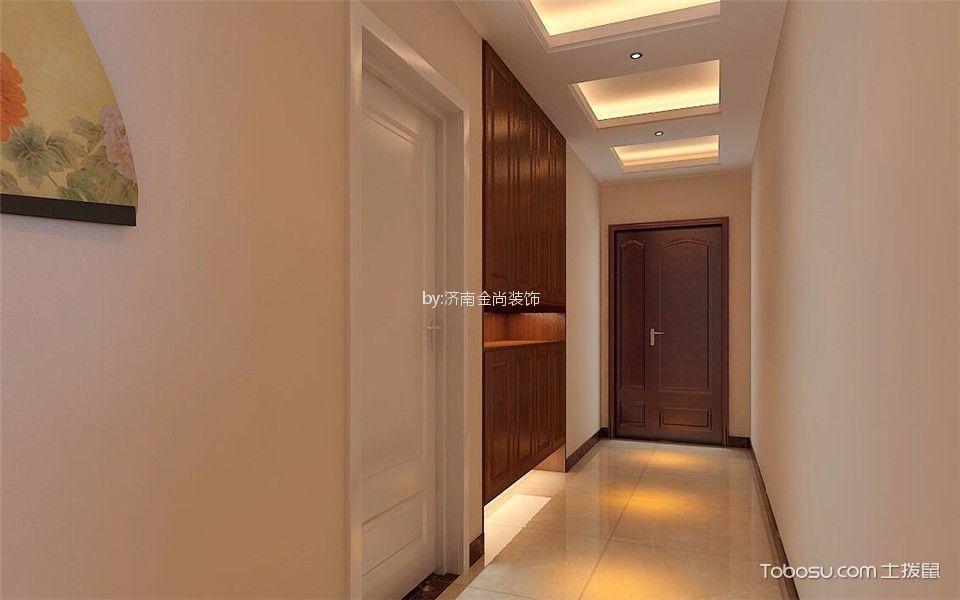 2018新中式玄关图片 2018新中式走廊效果图