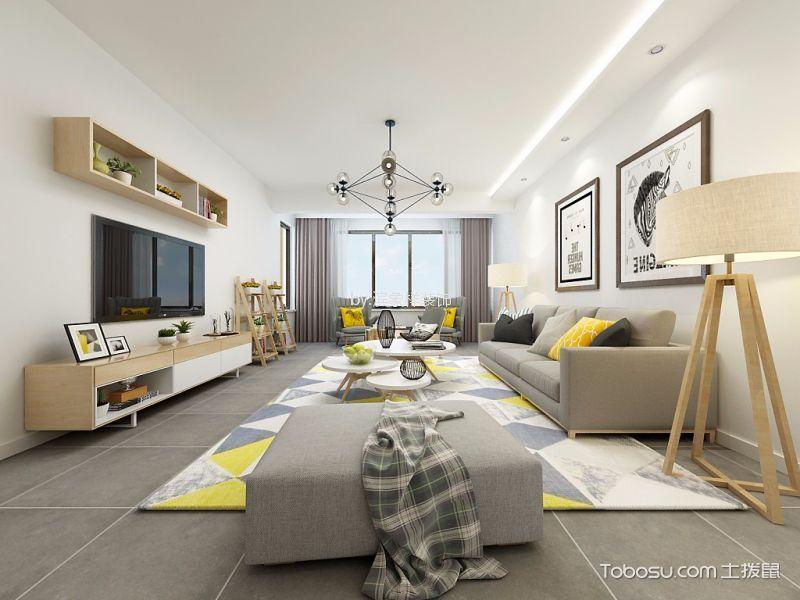 70平日式风格二居室装修效果图