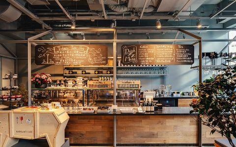 花店主题咖啡馆装修效果图