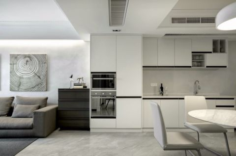 15万预算120平米公寓装修效果图
