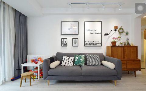 永宁街70平米简约风格两室两厅装修效果图