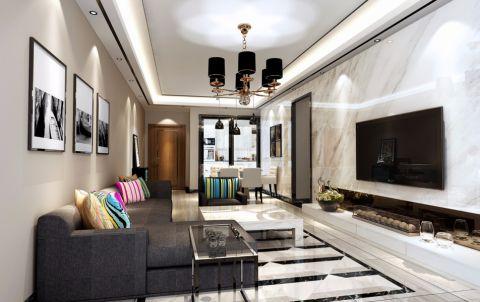 8万预算160平米套房装修效果图