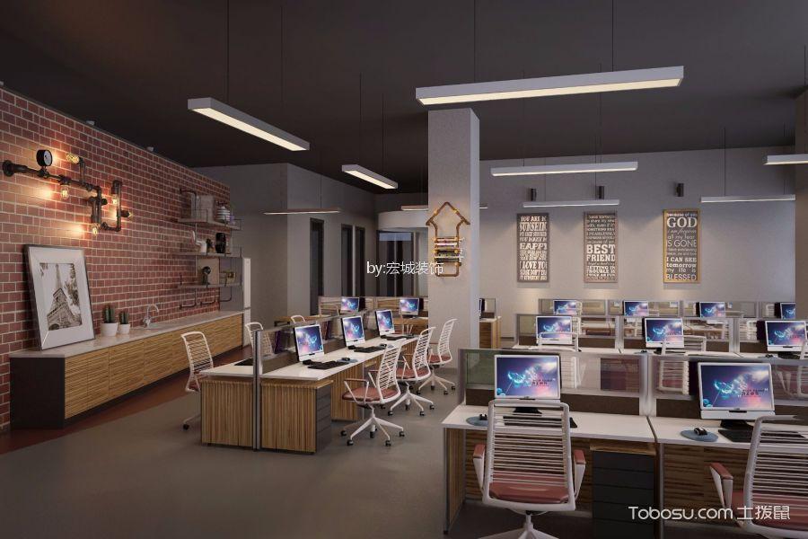 鄞州中物科技园写字楼办公区背景墙装修图片