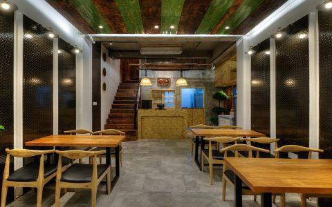韩式烤肉店餐馆装修效果图
