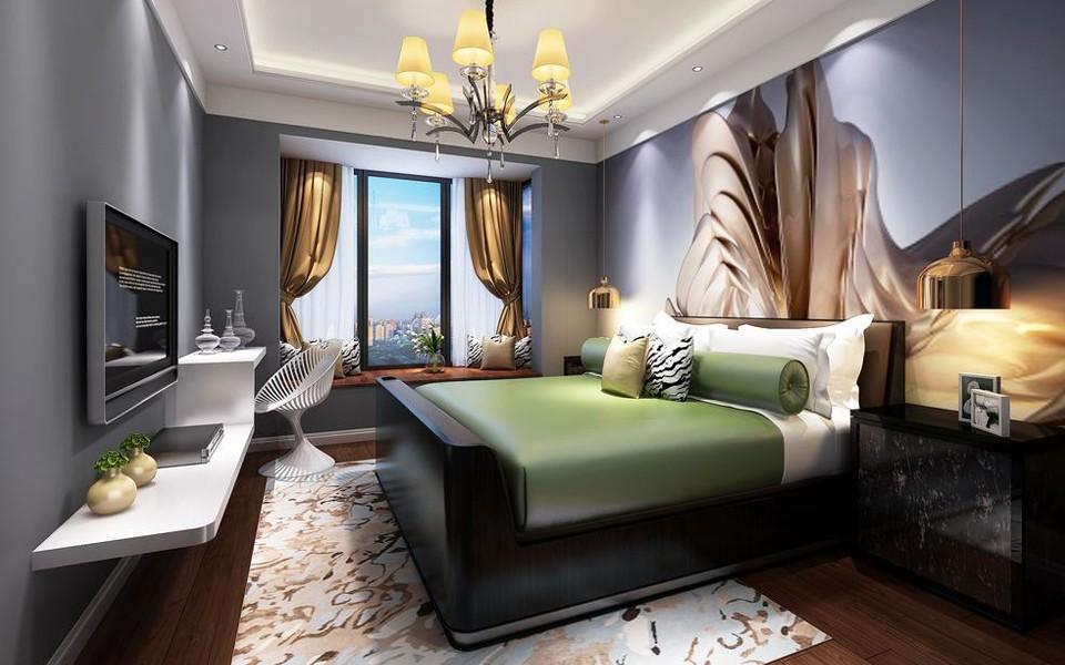 3室1卫2厅165平米简约风格