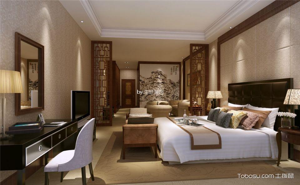 惠州锦绣学府225平米中式风格效果图