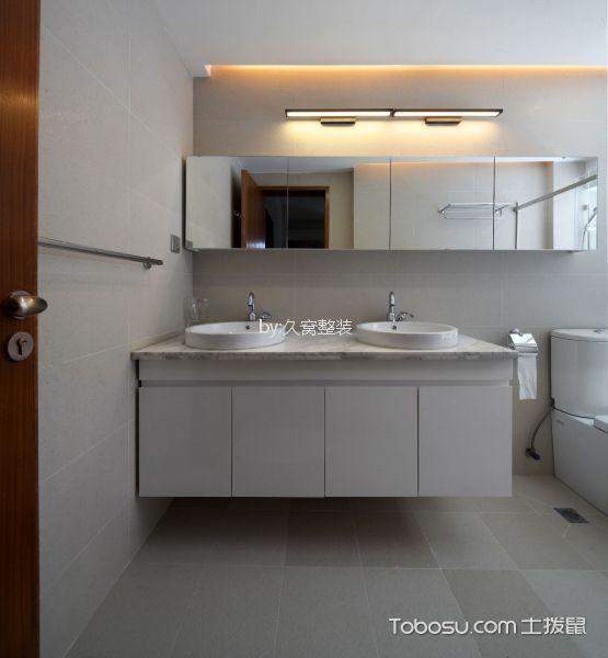 13万预算110平米三室两厅装修效果图