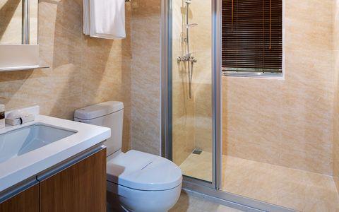 卫生间窗台简约风格装潢效果图