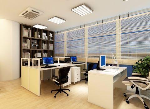 现代风格写字楼办公室装修效果图