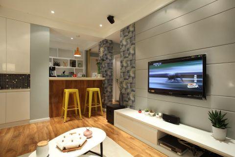2020混搭90平米效果图 2020混搭三居室装修设计图片