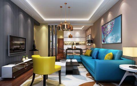 2020简约110平米装修图片 2020简约三居室装修设计图片