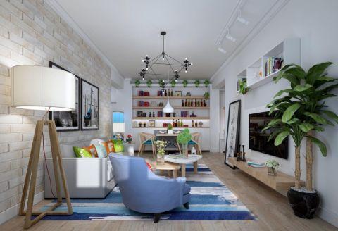 10万预算100平米公寓装修效果图