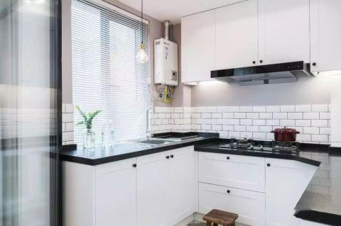 厨房窗台简约风格装潢图片