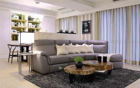 东升村80平米简约风格二居室装修效果图