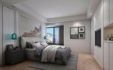 嘉铭桐城130平米北欧三居室装修效果图