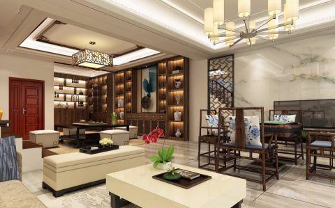 客厅照片墙新中式风格装饰设计图片