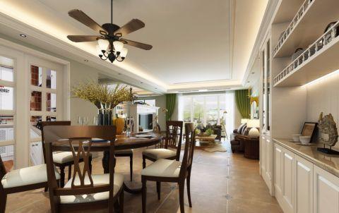 餐厅走廊美式风格效果图