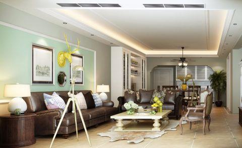 客厅沙发美式风格装修效果图