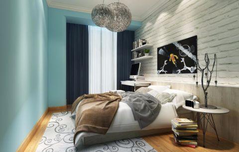 卧室照片墙新中式风格装饰效果图