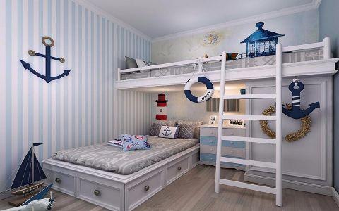 儿童房床地中海风格装修效果图