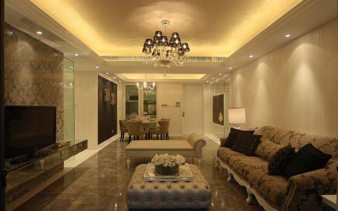 6.55万预算150平米三室两厅装修效果图