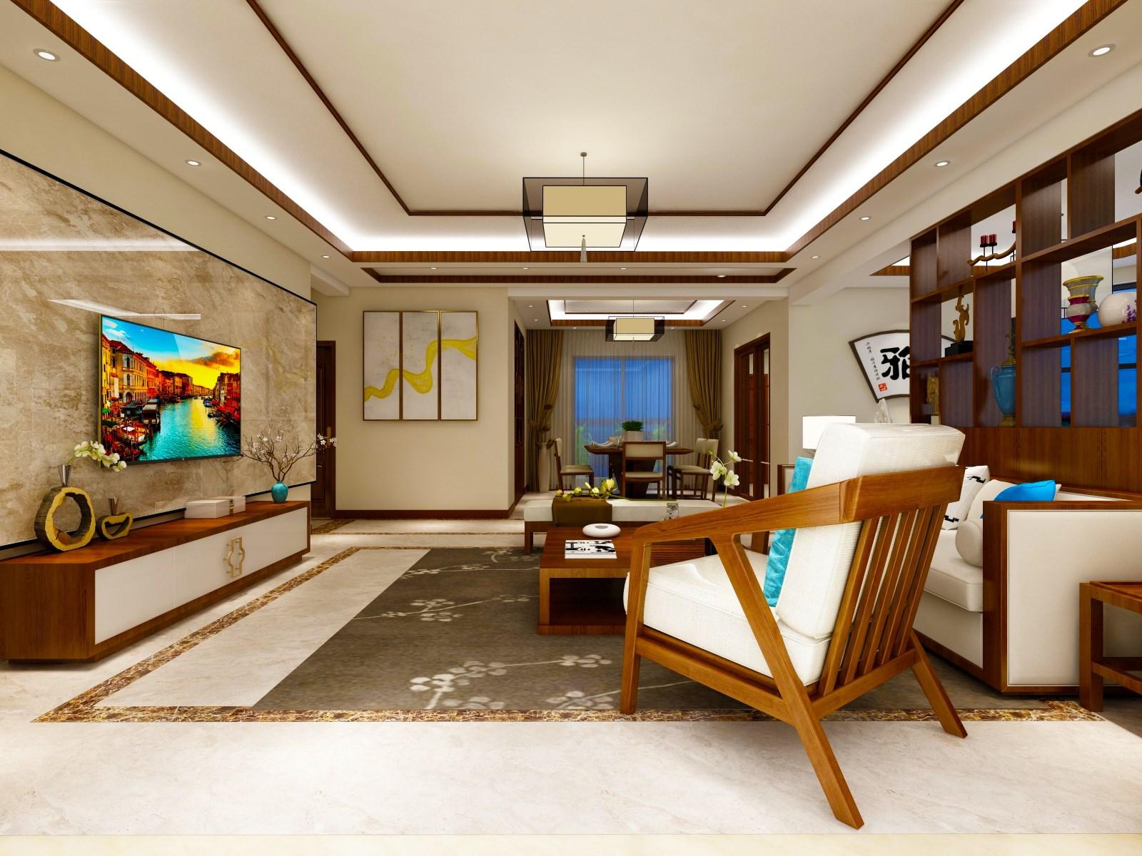 4室2卫2厅330平米新中式风格