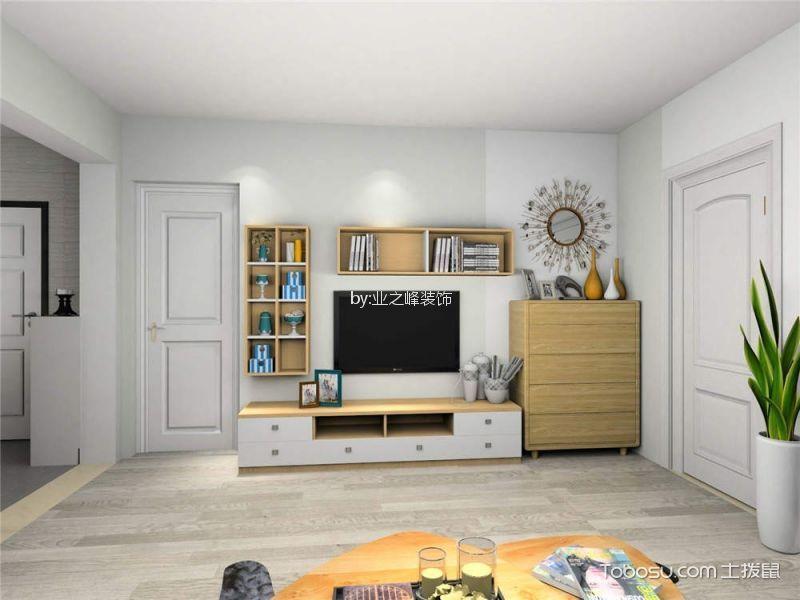 15万预算80平米两室两厅装修效果图