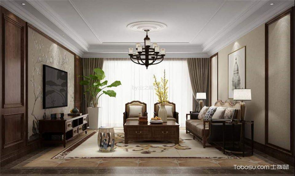 26万预算160平米四室两厅装修效果图