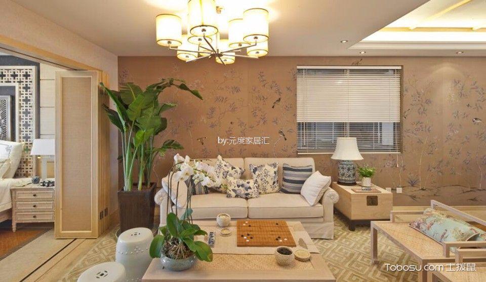中德英伦联邦80平中式风格二居室装修效果图