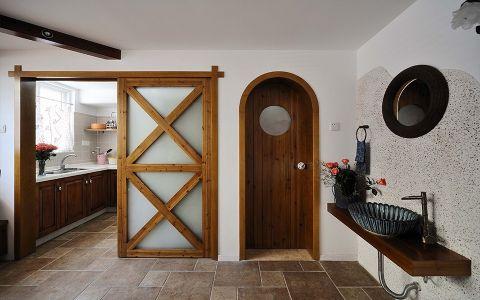 卫生间门厅地中海风格装潢设计图片