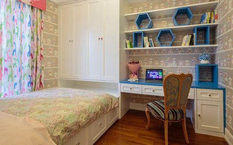 儿童房窗帘欧式风格装修设计图片
