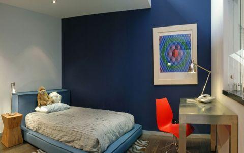 儿童房照片墙后现代风格装修效果图