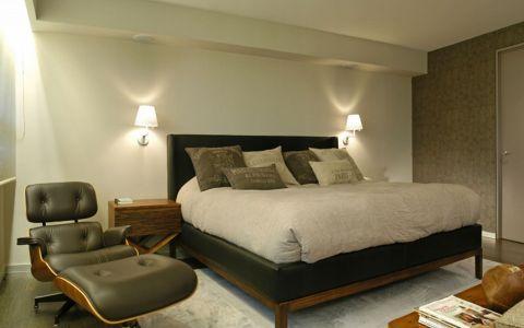 卧室吊顶后现代风格装潢效果图