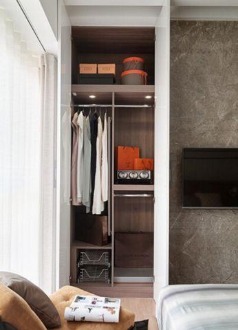 卧室博古架现代简约风格效果图