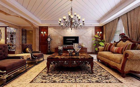 红星威尼斯欧式风格别墅装修效果图