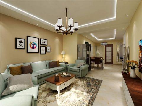 2020北欧90平米装饰设计 2020北欧三居室装修设计图片