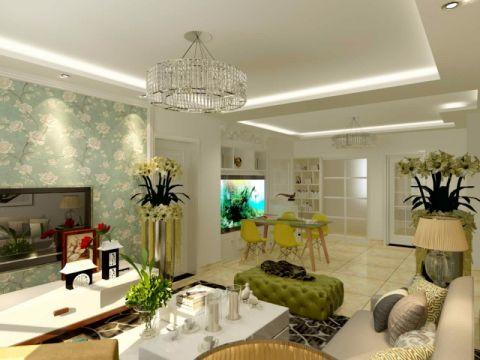 质朴客厅简欧装修案例图片