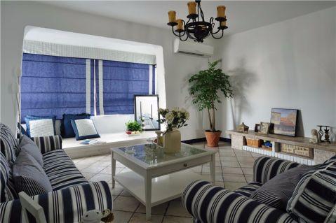 2020地中海90平米装饰设计 2020地中海三居室装修设计图片