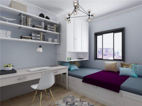 美感白色书桌设计方案