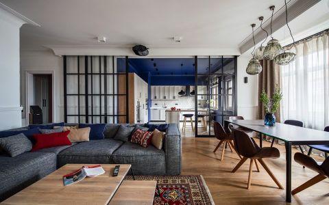 2021新中式100平米图片 2021新中式三居室装修设计图片