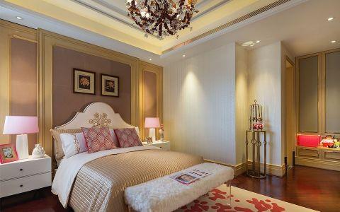 欧式卧室背景墙装修设计