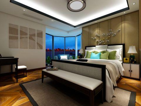 2018新中式卧室装修设计图片 2018新中式背景墙装修设计