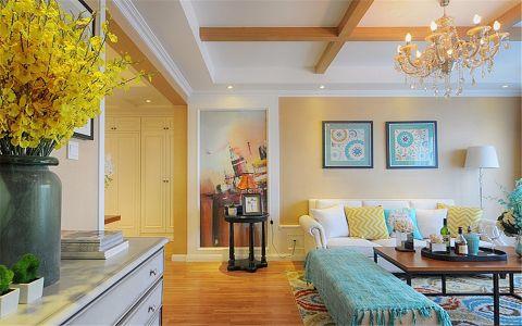 2020新古典100平米图片 2020新古典三居室装修设计图片