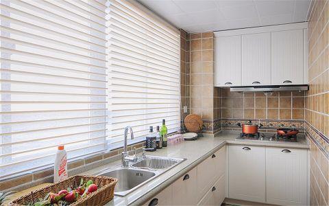 厨房白色窗台新古典风格装潢设计图片